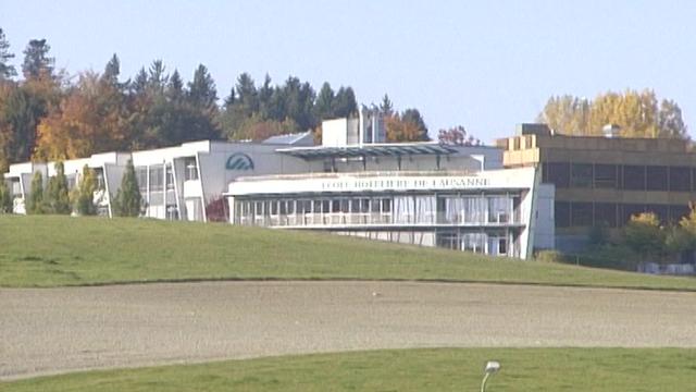 Les bâtiments de l'Ecole hôtelière de Lausanne au Chalet-à-Gobet, 2005. [RTS]
