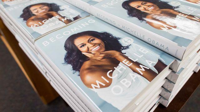 Michelle Obama publie ses Mémoires et n'épargne pas Donald Trump. [Michael Reynolds - EPA/Keystone]