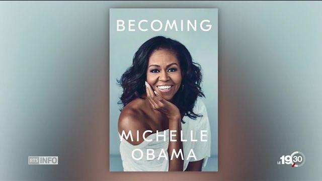 Michelle Obama publie ses mémoires, le volet privé mais aussi politique. [RTS]