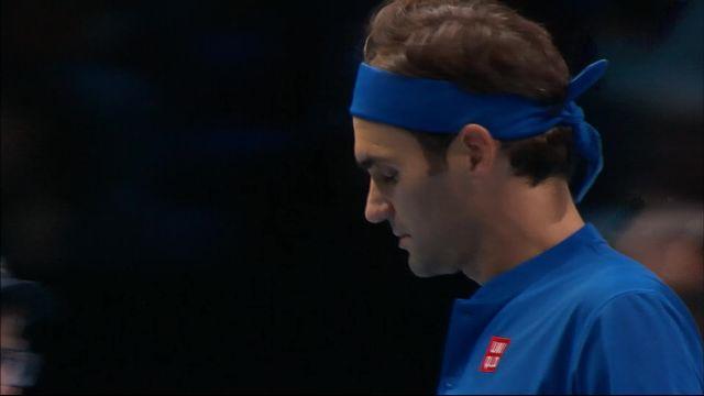 ound Robin, R.Federer (SUI) - D.Thiem (AUT) (6-2): Federer gagne le premier set facilement [RTS]