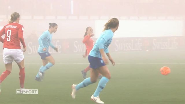 Football féminin: Résumé SUI - NED [RTS]