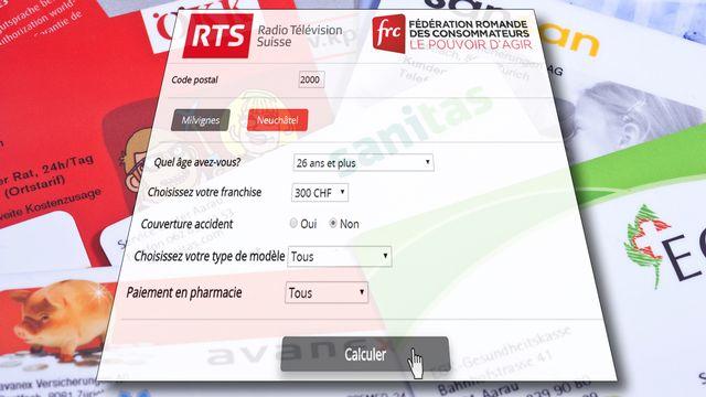 Le calculateur de la RTS et la FRC. [RTS - Keystone]