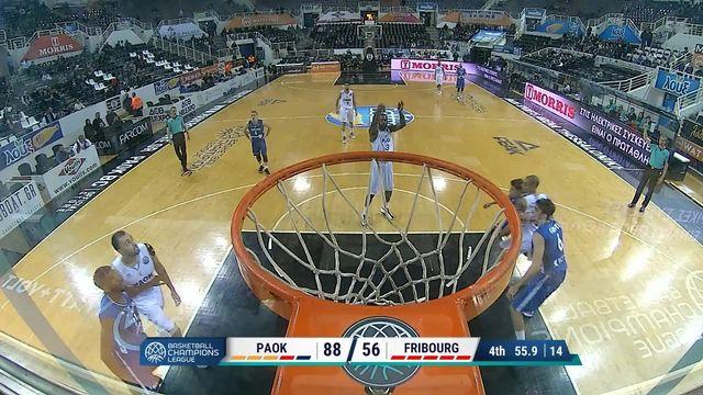 PAOK Salonique - Fribourg Olympic (92-61) : Lourde défaite pour Fribourg [RTS]