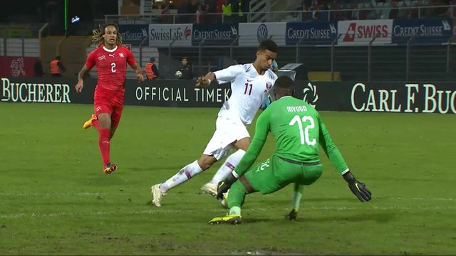 Match amical, Suisse - Qatar (0-1): le but du match [RTS]