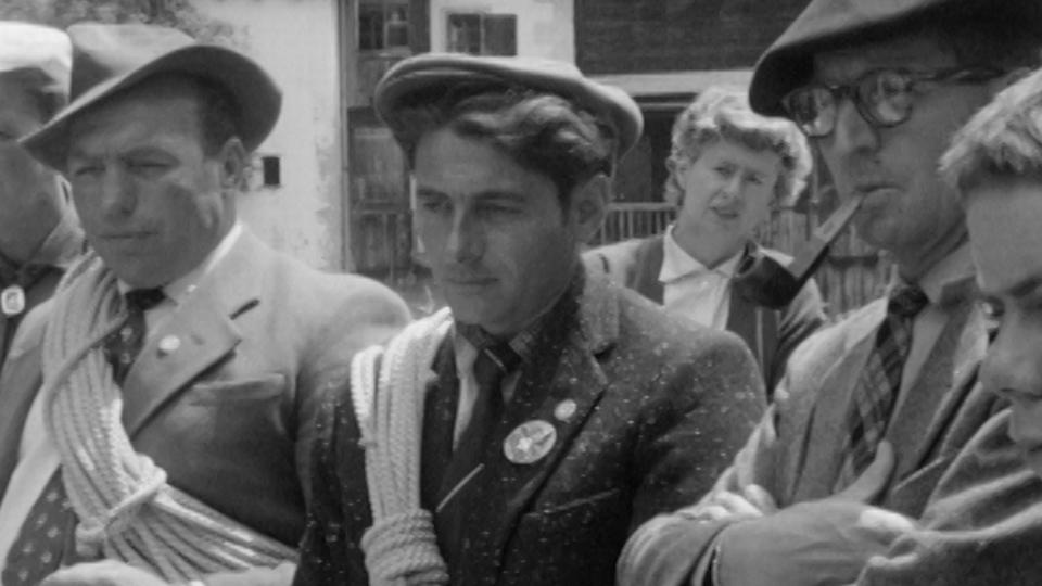 La fête des guides à Evolène, 1959. [RTS]