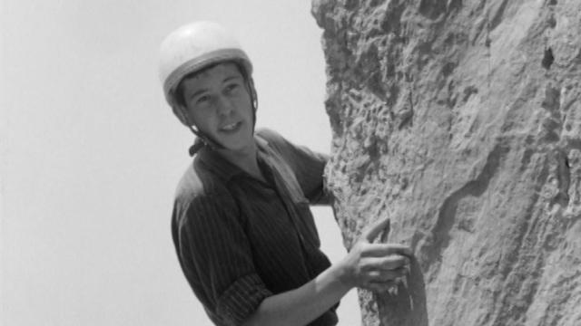 Les joies de la varappe au Salève, 1966. [RTS]