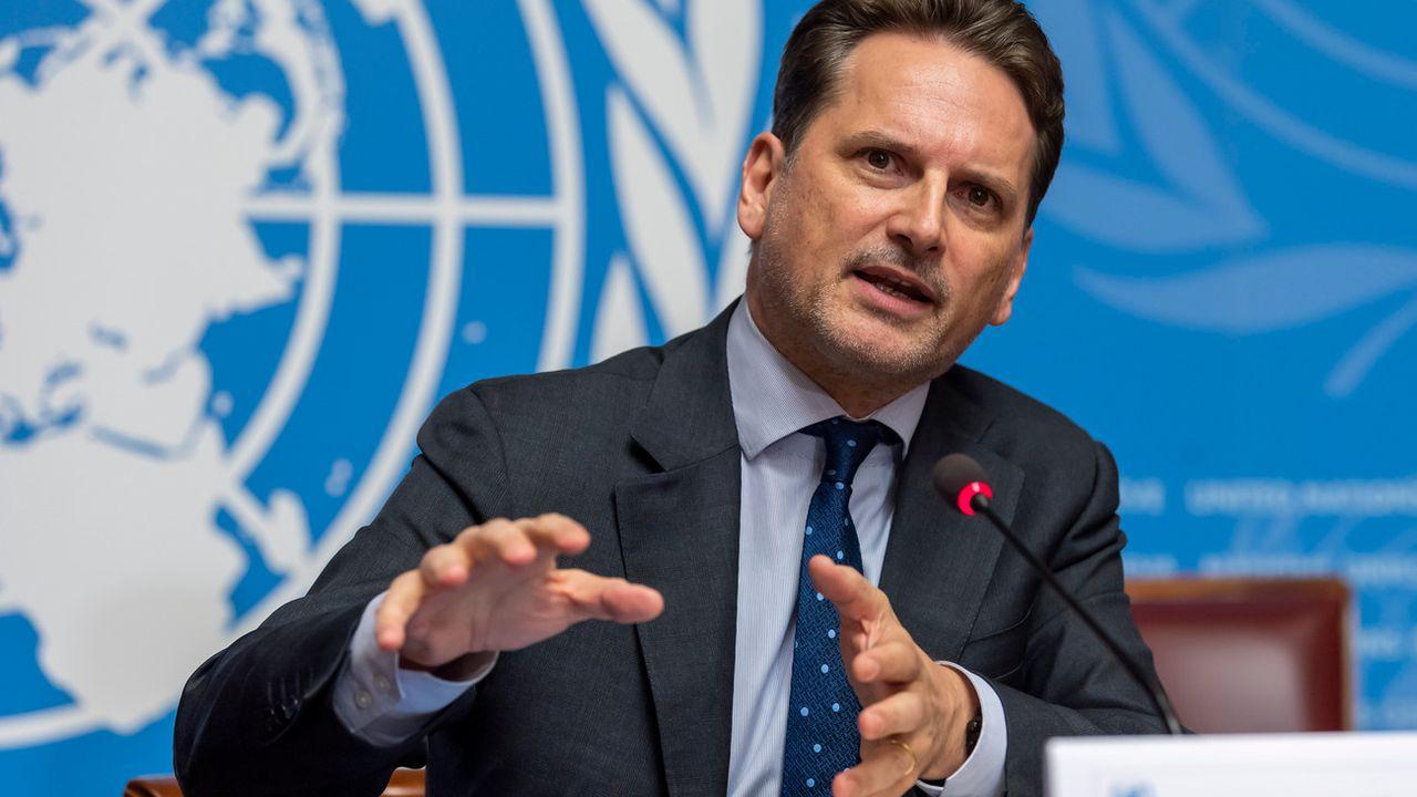 Pierre Krähenbühl, commissaire général de l'UNRWA. [Martial Trezzini - Keystone]