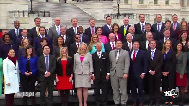 Le nouveau Congrès américain a un visage plus démocrate et plus féminin [RTS]