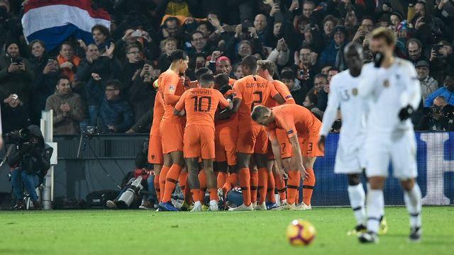 Les Pays-Bas ont régalé leur public à Rotterdam. [John Thys - AFP]