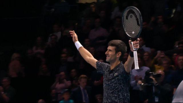 Round Robin, N.Djokovic (SRB) bat M.Cilic (CRO) (7-6, 6-2) [RTS]