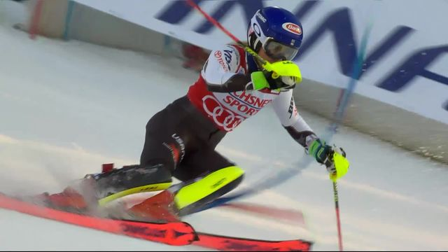 Levi (FIN), Slalom dames, 1re manche: Mikaela Shiffrin (USA) prend les commandes [RTS]