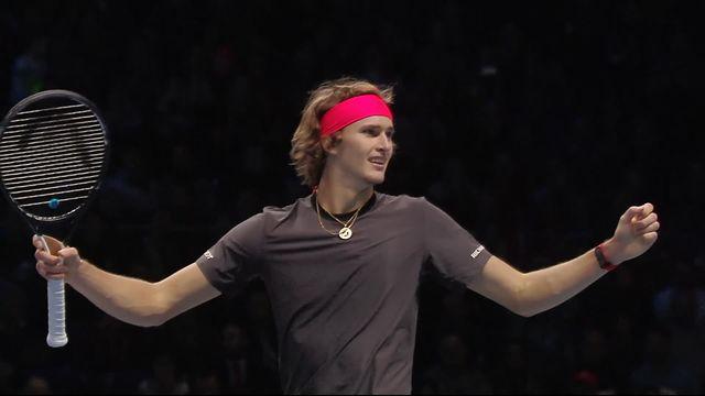 1-2, R.Federer (SUI) battu par A.Zverev (ALL) (5-7, 6-7): Zverev se qualifie pour la finale [RTS]