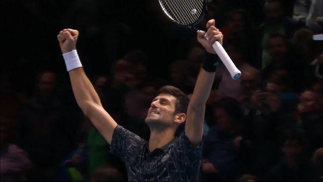 1-2, N.Djokovic (SRB) bat K.Anderson (RSA) (6-2, 6-2): Djokovic se qualifie pour sa septième finale [RTS]