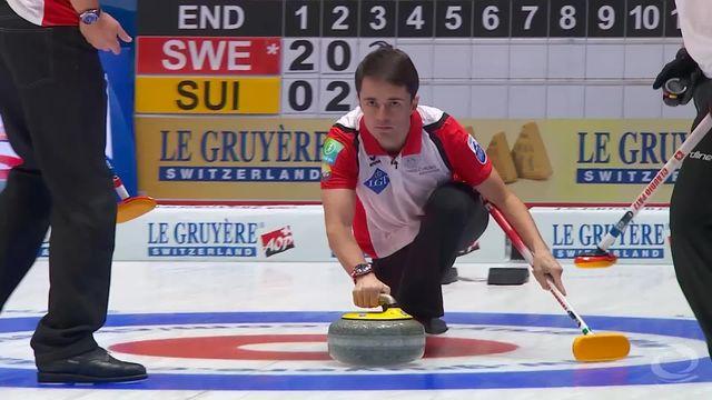 Curling, Championnats d'Europe: la Suisse rencontrait la Suède [RTS]