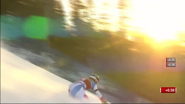 Levi (FIN), Slalom messieurs, 1re manche: Tanguy Nef (SUI) bien parti pour se qualifier [RTS]