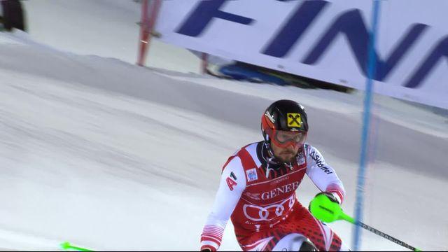 Levi (FIN), Slalom messieurs, 2e manche: Marcel Hirscher (AUT) s'impose [RTS]