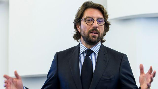 Johanne Gurfinkiel, secrétaire général de la Coordination intercommunautaire contre l'antisémitisme et la diffamation (CICAD). [Martial Trezzini - Keystone]