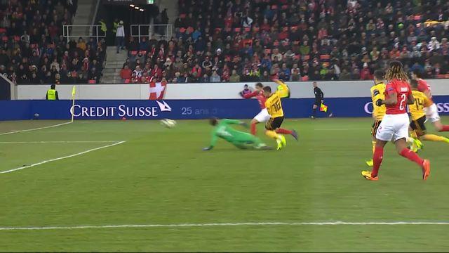 Gr.2, Suisse – Belgique (0-1): 2e, grosse bourde d'Elvedi, Thorgan Hazard en profite [RTS]