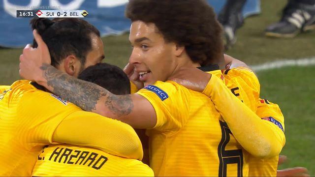 Gr.2, Suisse – Belgique (0-2): 17e, doublé de Thorgan Hazard [RTS]