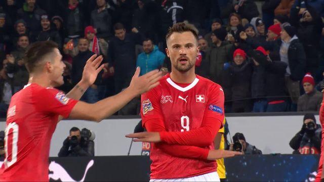 Gr.2, Suisse – Belgique (3-2): 44e, doublé de Seferovic qui donne l'avantage à la Suisse! [RTS]