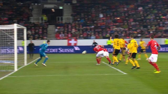 Gr.2, Suisse – Belgique (4-2): 62e, Elvedi donne deux longueurs d'avance à la Suisse! [RTS]