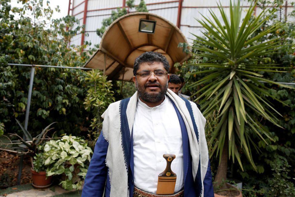 Mohammed Ali al-Houthi, président du Comité révolutionnaire des rebelles houthis. [Khaled Abdullah - Reuters]