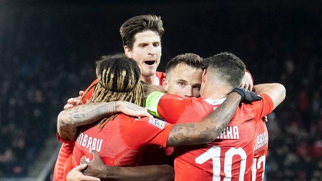 Seferovic a réalisé un superbe match contre la Belgique. [Ennio Leanza - Keystone]