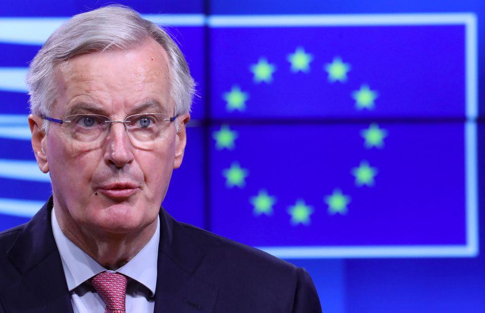 Michel Barnier suggère de prolonger la transition du Brexit jusqu'à fin 2022 [Olivier Hoslet - Keystone]