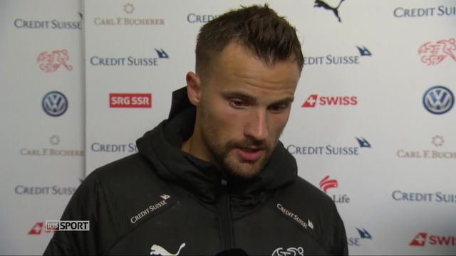 Gr.2, Suisse – Belgique (5-2): Haris Seferovic à l'interview après son triplé [RTS]
