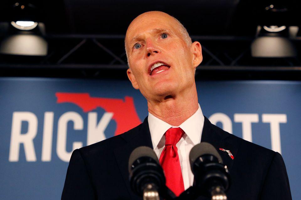 Le républicain Rick Scott a été proclamé vainqueur en Floride et sera donc le nouveau sénateur de l'Etat. [Joe Skipper - Reuters]