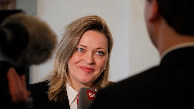 La conseillère d'Etat uranaise Heidi Z'Graggen est candidate au Conseil fédéral. [Geri Holdener - Keystone]