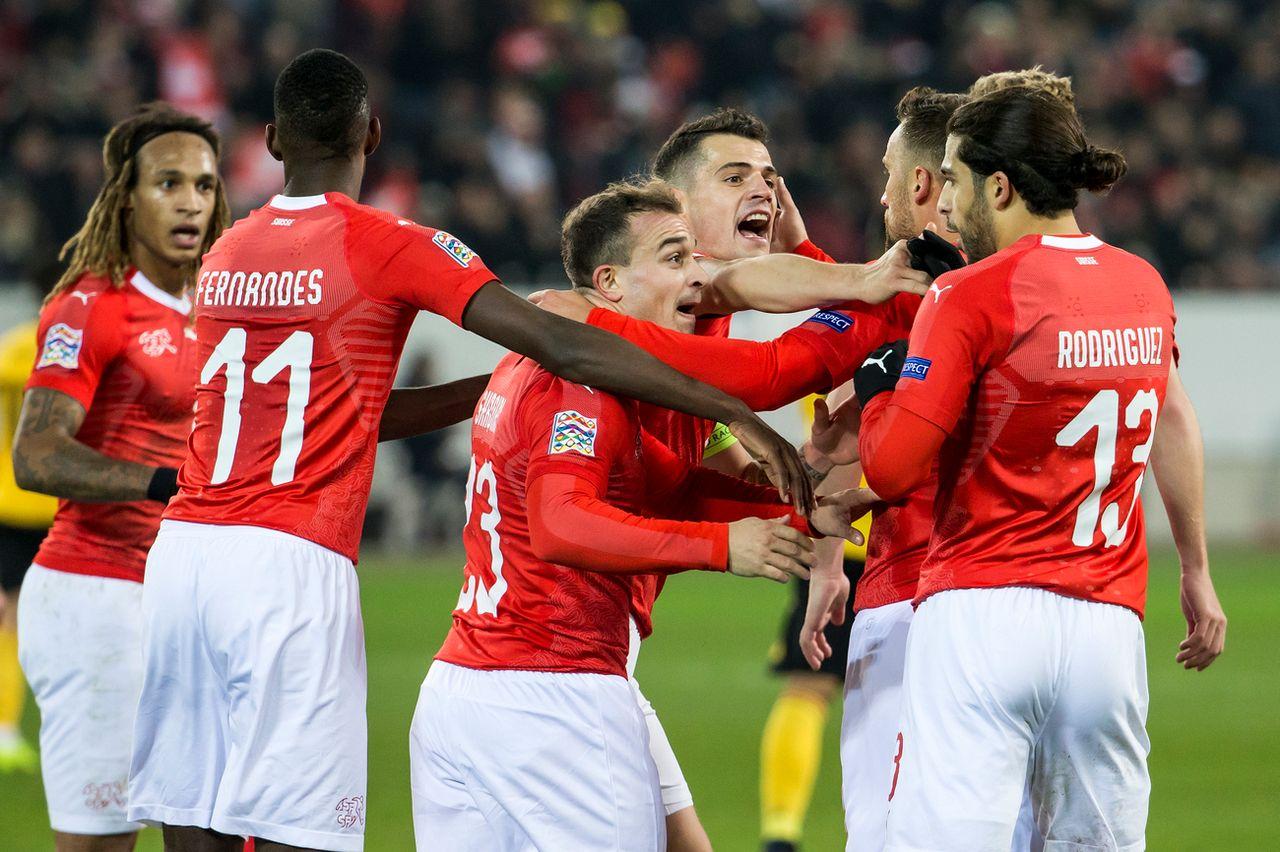 La belle victoire des Suisses va rapporter gros à l'ASF. [Alexandra Wey - Keystone]