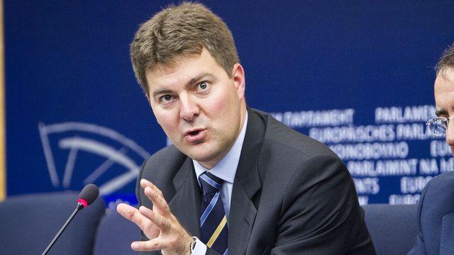 Andreas Schwab, député allemand la CDU au Parlement européen. [EPP Group - Flickr]