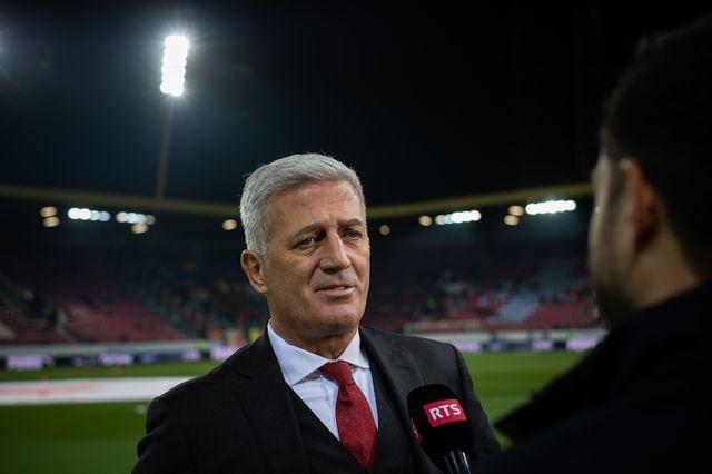 Gr.2, Suisse – Belgique (5-2): la satisfaction de Vladimir Petkovic après l'exploit de son équipe [Laurent Bleuze - RTS]