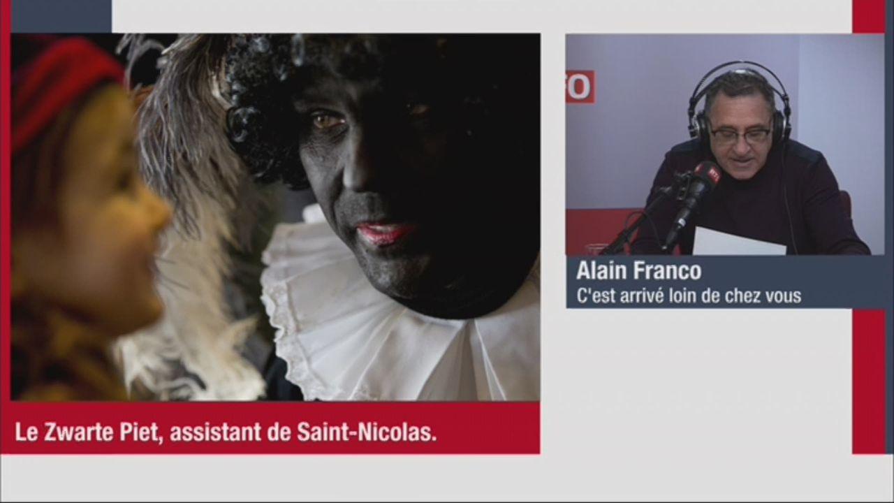 C'est arrivé loin de chez vous (vidéo) - Pays-Bas: touche pas à mon Zwarte Piet [RTS]