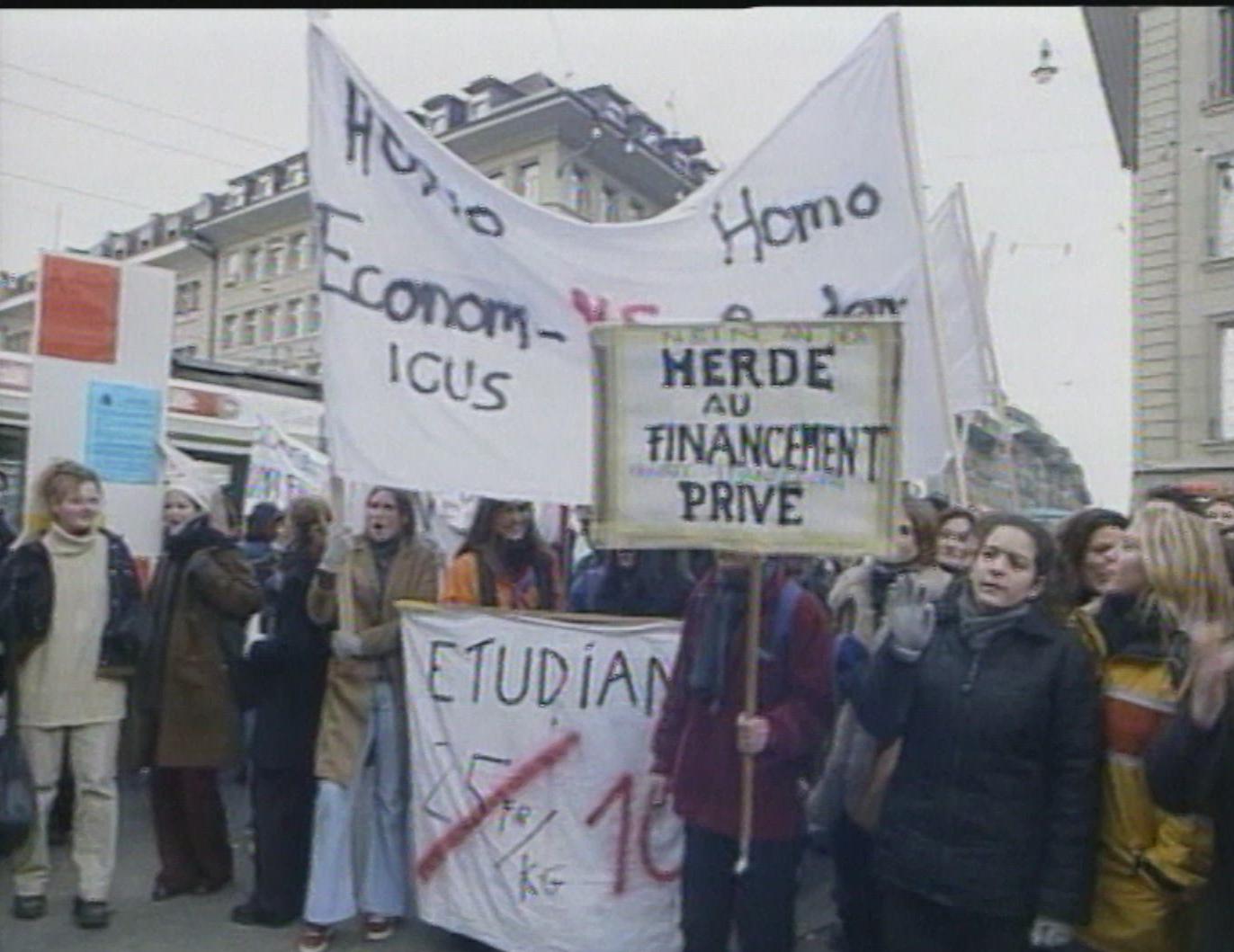 Etudiants en grève