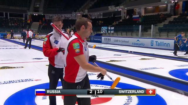 Victoire de la Suisse sur la Russie (10-2) [RTS]
