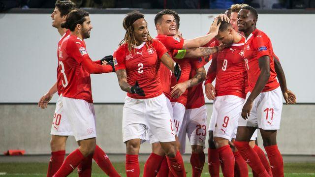 La Nati aura 2 chances d'accéder à l'Euro 2020. [Alexandra Wey - Keystone]
