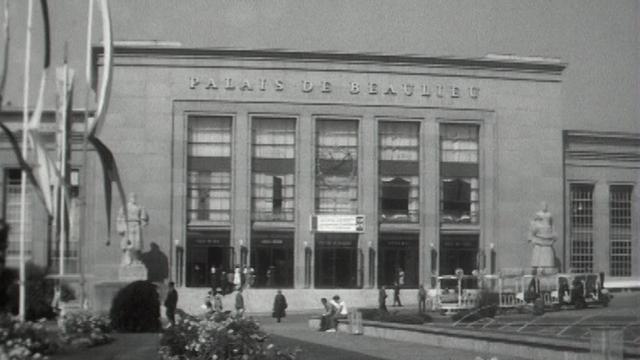 Le Comptoir suisse de Lausanne, 1962. [RTS]