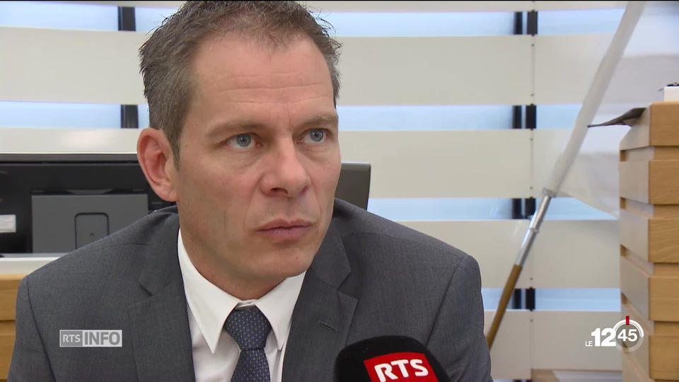 Le canton du Jura fait un pas en direction du vote électronique. David Eray s'exprime sur la mise en place du système. [RTS]