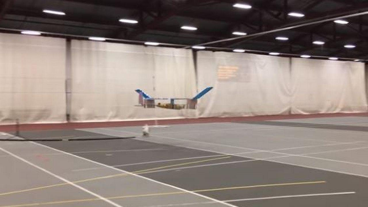 Des chercheurs du MIT ont réussi à faire voler un avion à propulsion ionique pour la première fois. [Massachusetts Institute of Technology]