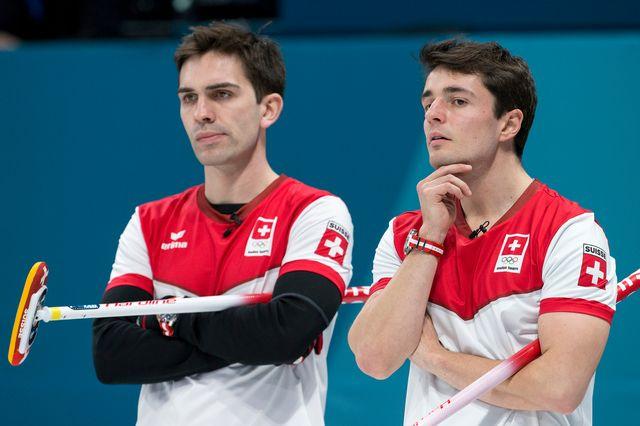 Depuis mars 2014, la formation emmenée par Peter De Cruz a accumulé six médailles entre les Européens, les Mondiaux et les JO de PyeongChang où ils ont décroché le bronze. [Alexandra Wey - Keystone]