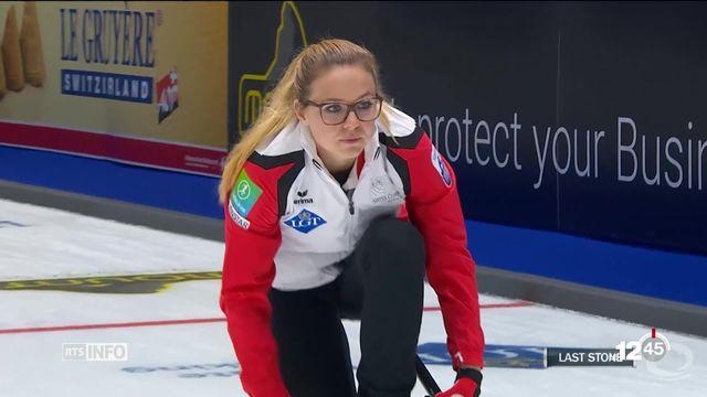 Curling: l'équipe de Suisse féminine aux championnats d'Europe de Tallin s'est qualifiée pour les demi-finales. [RTS]
