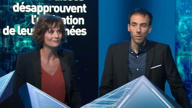 Sondage: discussion autour de la réticence des Suisses à l'utilisation de leurs données [RTS]