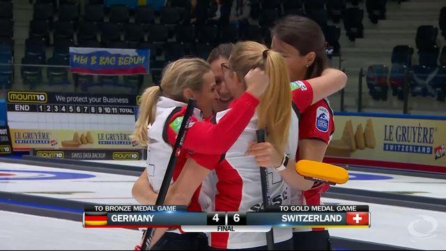 1-2 finale dames, Suisse – Allemagne (4-6): la Suisse se qualifie pour la finale du championnat d'Europe [RTS]