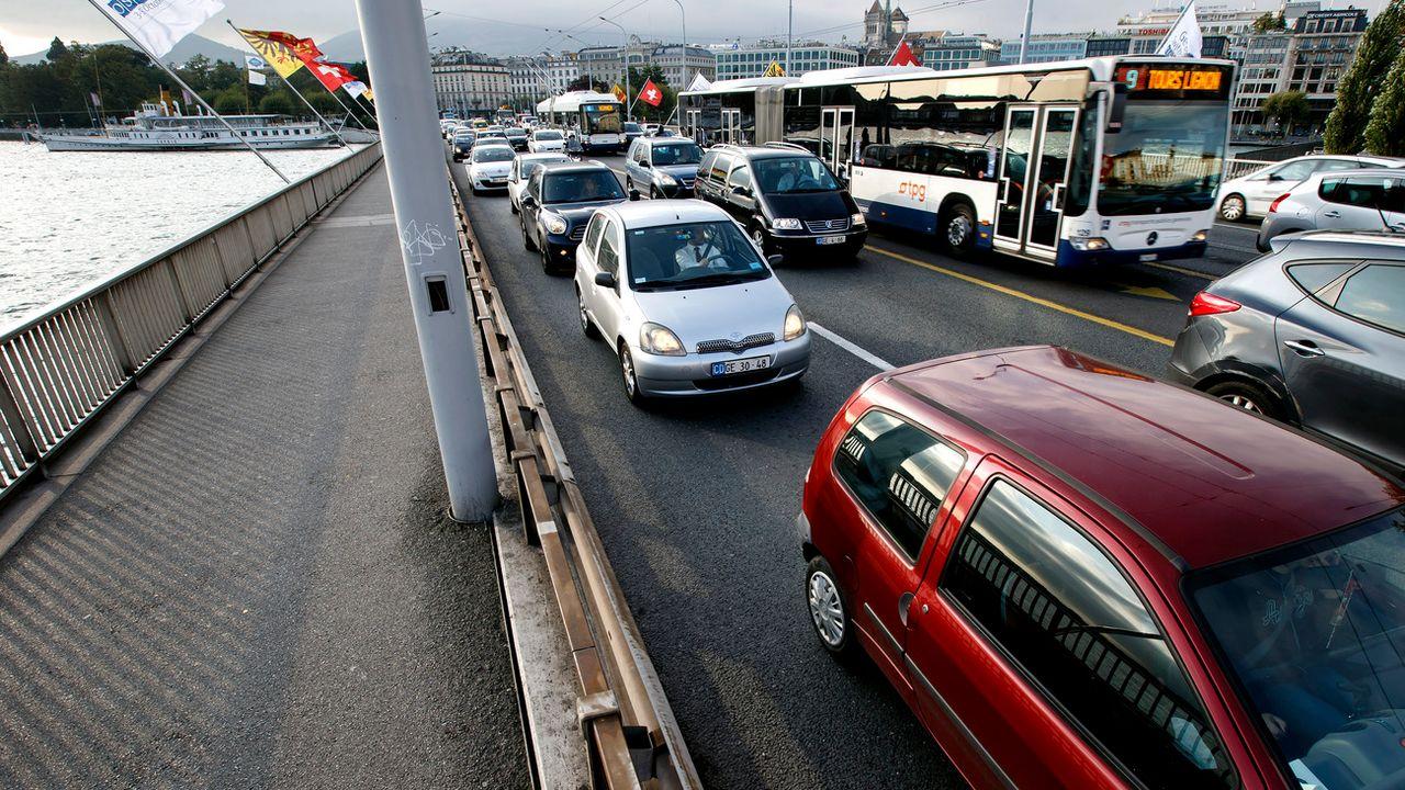 C'est la première fois qu'un canton applique la circulation différenciée. [Salvatore Di Nolfi - Keystone]