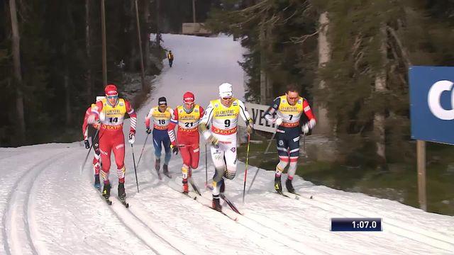 1-2 finale, sprint classique messieurs: Hedinger (SUI) termine 6e et est éliminé [RTS]