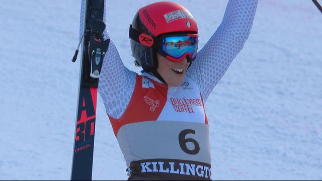 Géant de Killington (USA), 2e manche dames: Federica Brignone (ITA) s'impose à Killington [RTS]