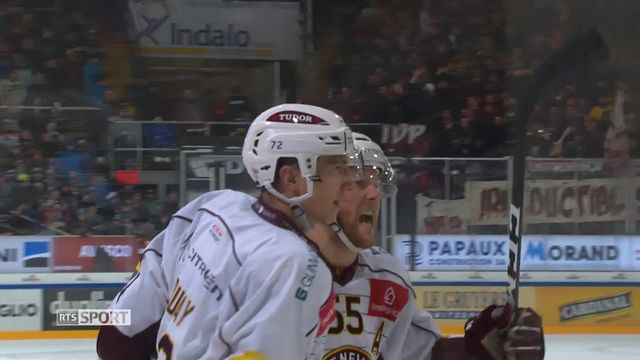 Hockey, National League, 22e journée: Genève - Fribourg (3-5) [RTS]
