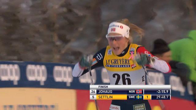 Ruka (FIN), 10 km dames: Johaug (NOR) s'impose devant Andersson (SWE) 2e et Oestberg (NOR) 3e [RTS]